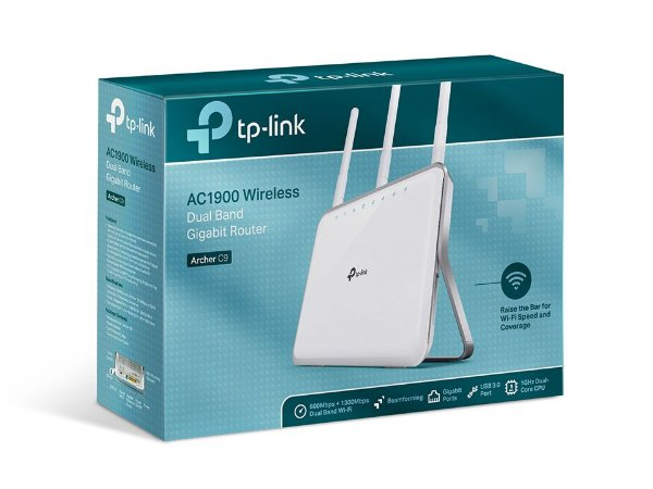 ROTEADOR WIRELESS TP-LINK ARCHER C9 AC1900