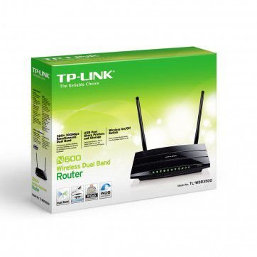 ROTEADOR WIRELESS TP-LINK N600 TL-WDR3500 DUAL BAND