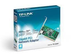 PLACA DE DE REDE TP-LINK PCI 10/100/1000MBPS - TG-3269 OEM