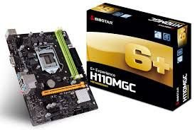 PLACA MÃE H110MGC SOCKET 1151 BIOSTAR
