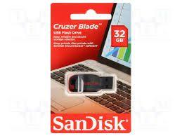 PEN DRIVE SANDISK 32GB - CRUZER BLADE