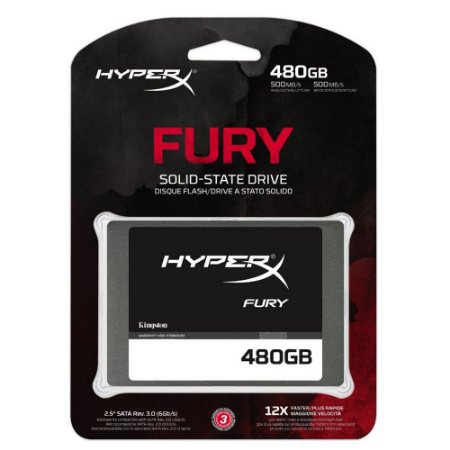 SSD 480GB FURY 500MB/S