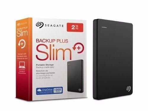 HD EXTERNO SEAGATE BACKUP PLUS 2TB USB 3.0 - PORTÁTIL