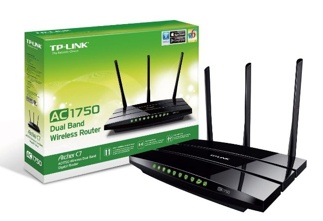 ROTEADOR WIRELESS TP-LINK ARCHER C7 AC1750