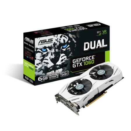 PLACA DE VÍDEO GTX 1060 6GB DDR5 192BITS ASUS