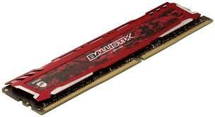 MEMÓRIA CRUCIAL BALLISTIX 8GB 2666MHZ, DDR4, BLS8G4D26BFSEK