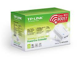 EXTENSOR POWERLINE 300MBPS WIFI TP-LINK TL-WPA4220