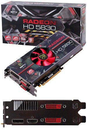 PLACA DE VÍDEO HD 5830 1GB DDR5 256BITS XFX