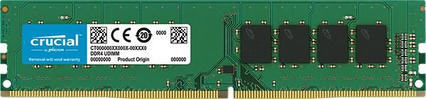 MEMÓRIA 16GB DDR4 2400MHZ CRUCIAL