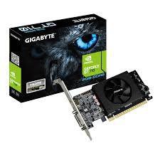 PLACA DE VIDEO GEFORCE GT710 2GB DDR5 64BITS GIGABYTE