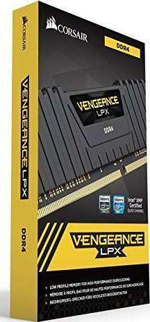 MEMÓRIA 16GB DDR4 2666MHZ CORSAIR VENGEANCE LPX