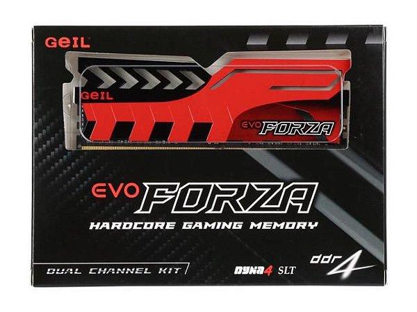 MEMÓRIA 2X16GB DDR4 2400MHZ GEIL EVO FORZA