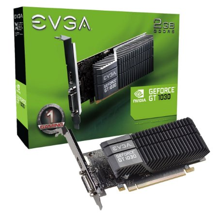 PLACA DE VÍDEO GTX 1030 2GB DDR5 64BITS EVGA