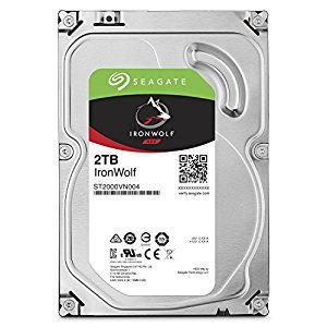 DISCO RÍGIDO 2TB SATA SEAGATE 5400RPM 64MB IRONWOLF