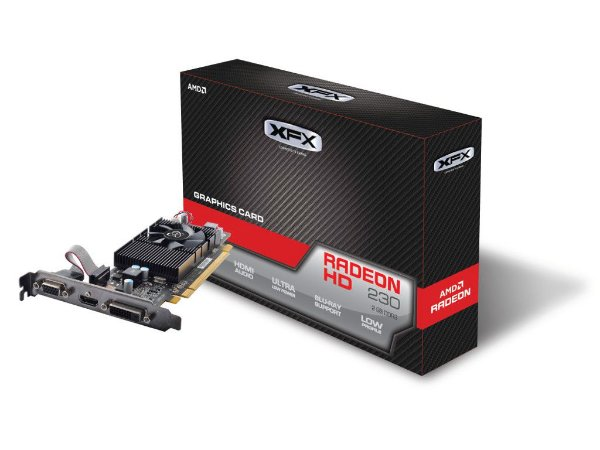 PLACA DE VÍDEO HD 230 2GB DDR3 128BITS XFX