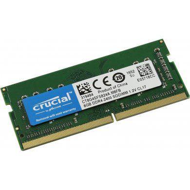 MEMÓRIA 8GB DDR4 2400MHZ CRUCIAL - NOTEBOOK
