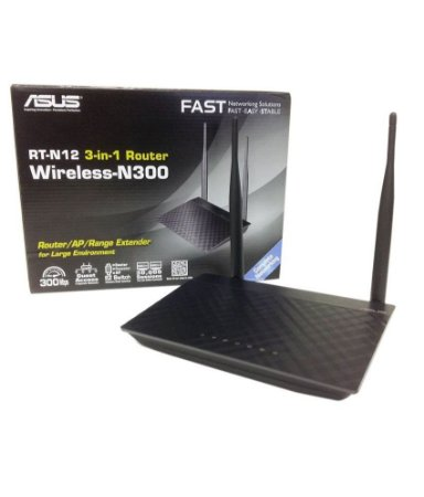 ROTEADOR WIRELESS ASUS 300MBPS RT-N300