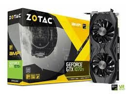PLACA DE VÍDEO GTX 1070TI 8GB DDR5 256BITS ZOTAC