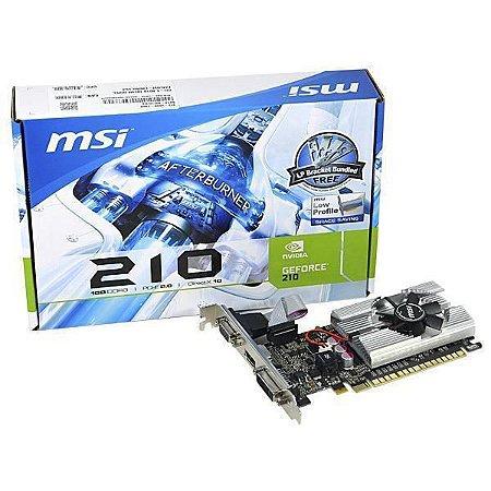 PLACA DE VÍDEO 210 1GB DDR3 64BITS MSI