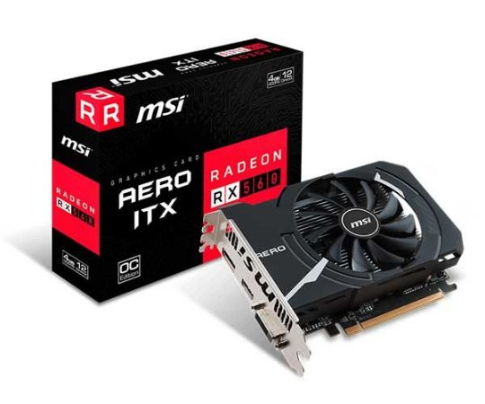 PLACA DE VÍDEO RX 560 4GB DDR5 128BITS MSI