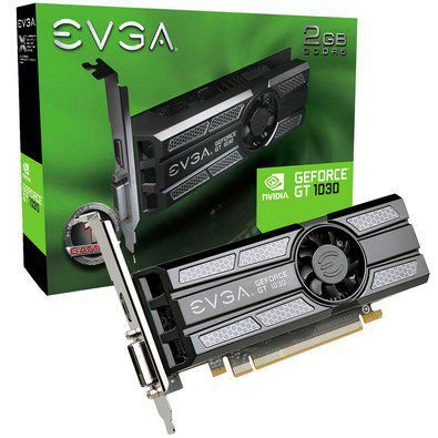 PLACA DE VÍDEO GT 1030 2GB DDR5 64BITS EVGA