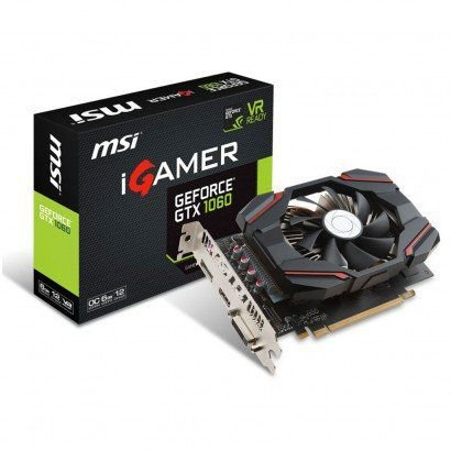 PLACA DE VÍDEO GTX 1060 IGAMER 6GB DDR5 192BITS MSI