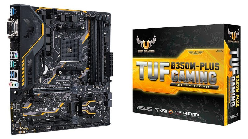 PLACA MÃE B350M-PLUS TUF SOCKET AM4 ASUS