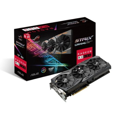 PLACA DE VÍDEO RX 580 8GB DDR5 256BITS ASUS