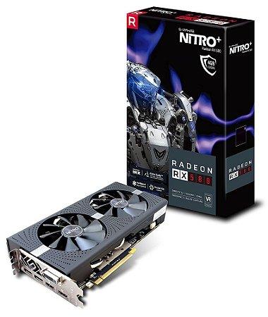 PLACA DE VÍDEO RX 570 NITRO 4GB DDR5 256BITS SAPPHIRE