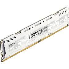 MEMÓRIA CRUCIAL BALLISTIX 4GB, 2666MHZ, DDR4, BRANCO, BLS4G4D26BFSC