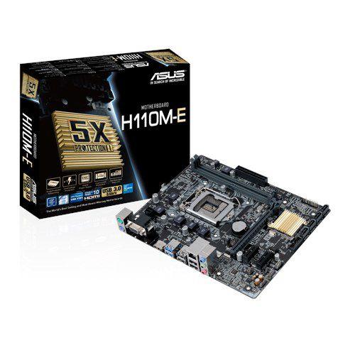 KIT UPGRADE H110M-E + PROCESSADOR I5 7400 + 4GB DDR4
