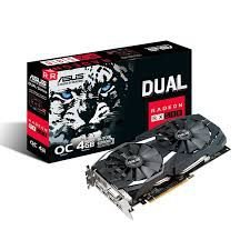 PLACA DE VÍDEO RX 580 4GB DDR5 256BITS ASUS