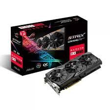 PLACA DE VÍDEO RX 580 8GB DDR5 256BITS ASUS