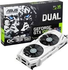 PLACA DE VÍDEO GTX 1060 3GB DDR5 192BITS ASUS