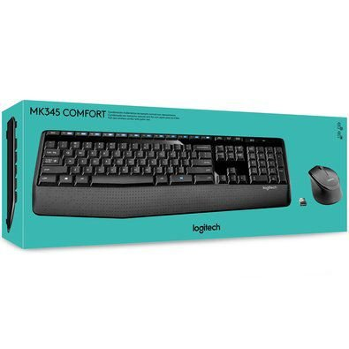 KIT MOUSE TECLADO LOGITECH WIRELESS MK345 COMFORT