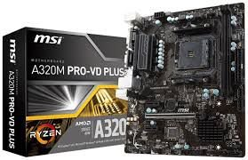 PLACA MÃE A320M PRO-VD PLUS SOCKET AM4 MSI