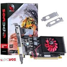 PLACA DE VÍDEO R5 230 1GB DDR3 64 BITS PCYES