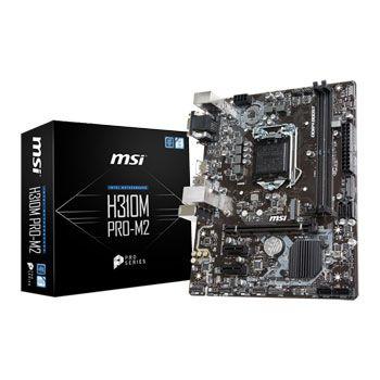 PLACA MÃE H310M PRO-M2 MSI, INTEL LGA 1151, mATX, DDR4