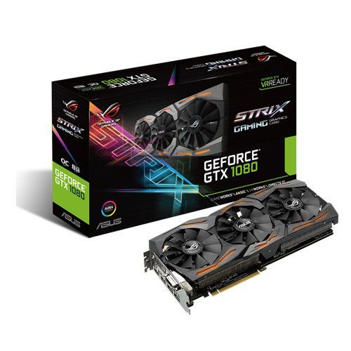 PLACA DE VÍDEO GTX 1080 8GB GDDR5 256BITS ASUS STRIX