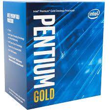 PROCESSADOR INTEL PENTIUM GOLD G5400 LGA 1151 3.7 GHZ 4MB CACHE OITAVA GERAÇÃO