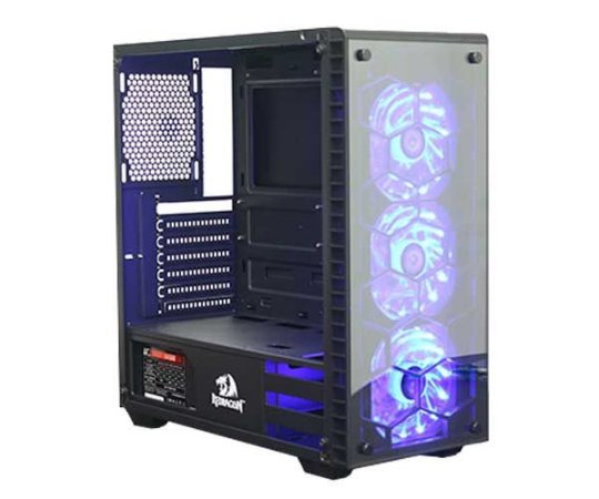 GABINETE GAMER ELITE REDRAGON DIAMOND STORM TPG, CA903