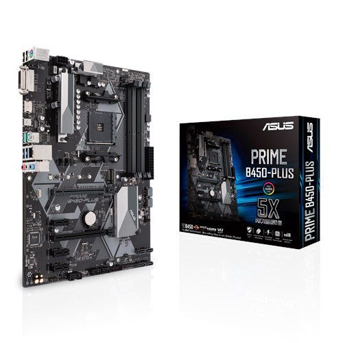 PLACA MÃE PRIME B450-PLUS ASUS, AMD SOCKET AM4, DDR4