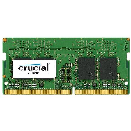 MEMORIA PARA NOTEBOOK CRUCIAL 4GB (1X4) 2400MHZ DDR4