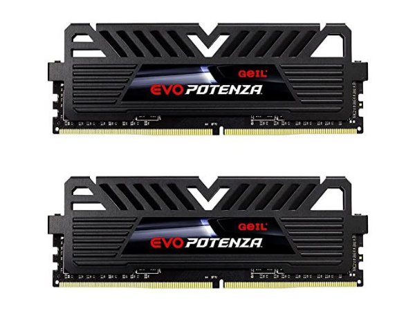 KIT 2X MEMÓRIA 8GB DDR4 2400MHZ GEIL EVO POTENZA