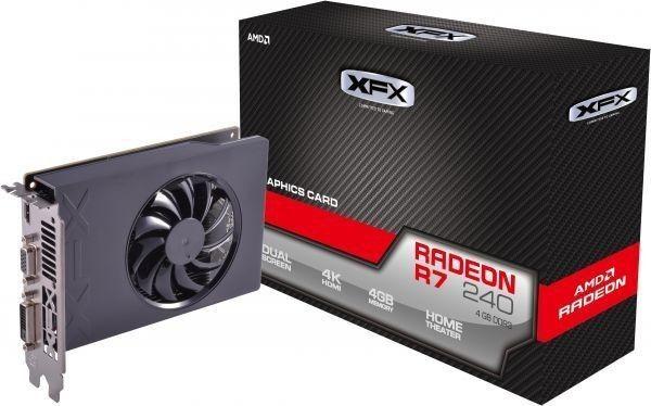 PLACA DE VÍDEO R7 240 4GB DDR3 128BITS XFX