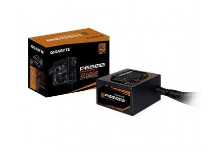FONTE GIGABYTE 650W P650B BRONZE 80 PLUS - GP-P650B