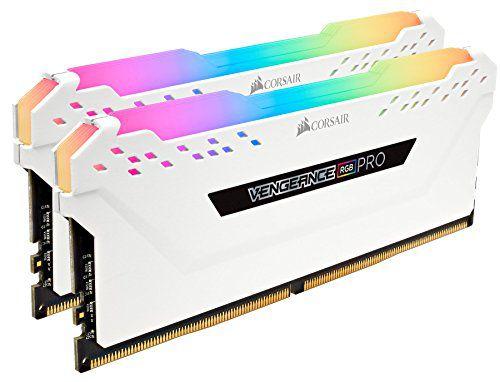 KIT MEMÓRIA CORSAIR VENGEANCE RGB PRO 32GB (2X16GB) 3000MHz DDR4 - CMW32GX4M2C3000C15W