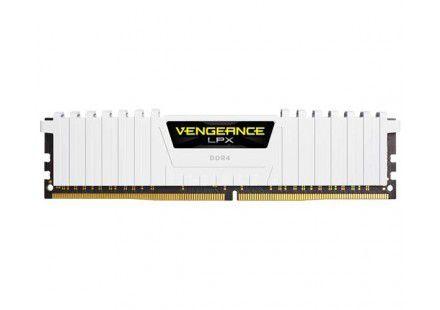 MEMÓRIA CORSAIR VENGEANCE LPX BRANCO 16GB (2X8) 3000MHZ DDR4