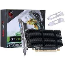 PLACA DE VIDEO 710 2GB DDR3 64 BITS COM KIT LOW PROFILE INCLUSO