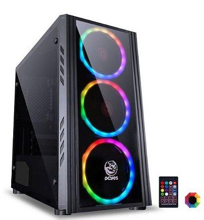 COMPUTADOR GAMER I5 8400 - 8GB RAM - SSD 240 - GABINETE RGB - GTX 1060 6GB DDR5